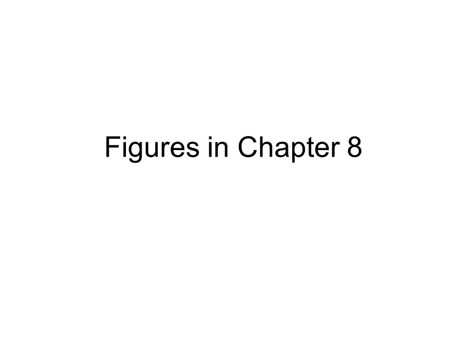 Figures in Chapter 8