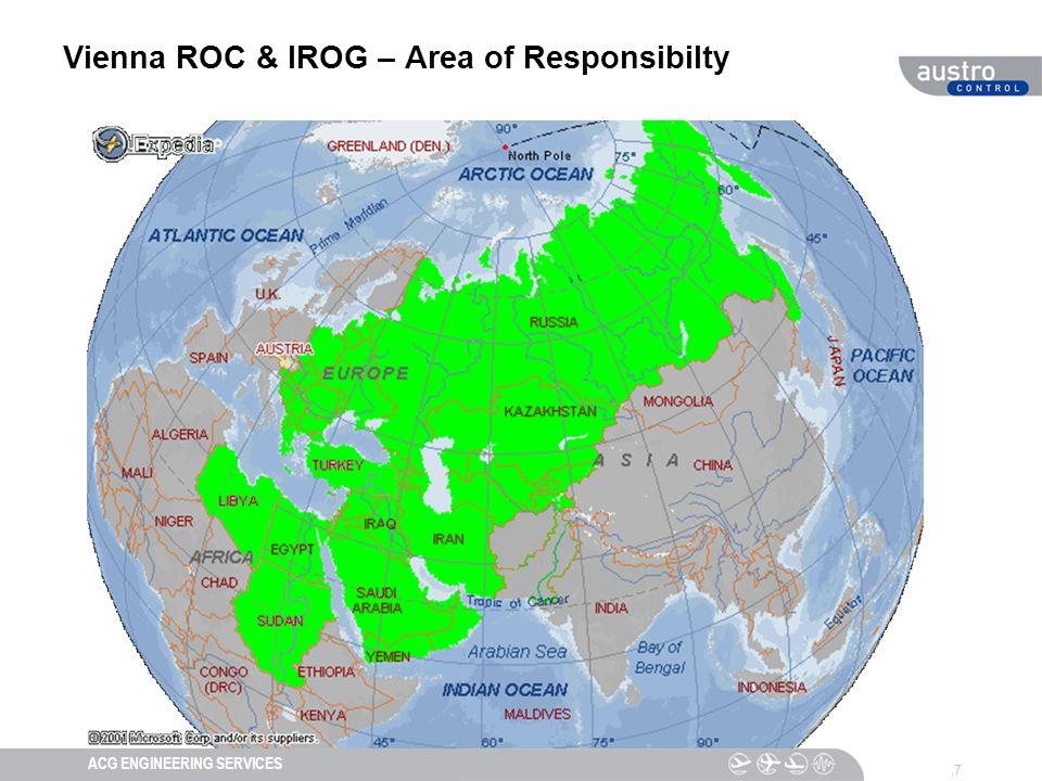 DIESER TEXT DIENT DER NAVIGATIONACG ENGINEERING SERVICES Vienna ROC & IROG – Area of Responsibilty,7