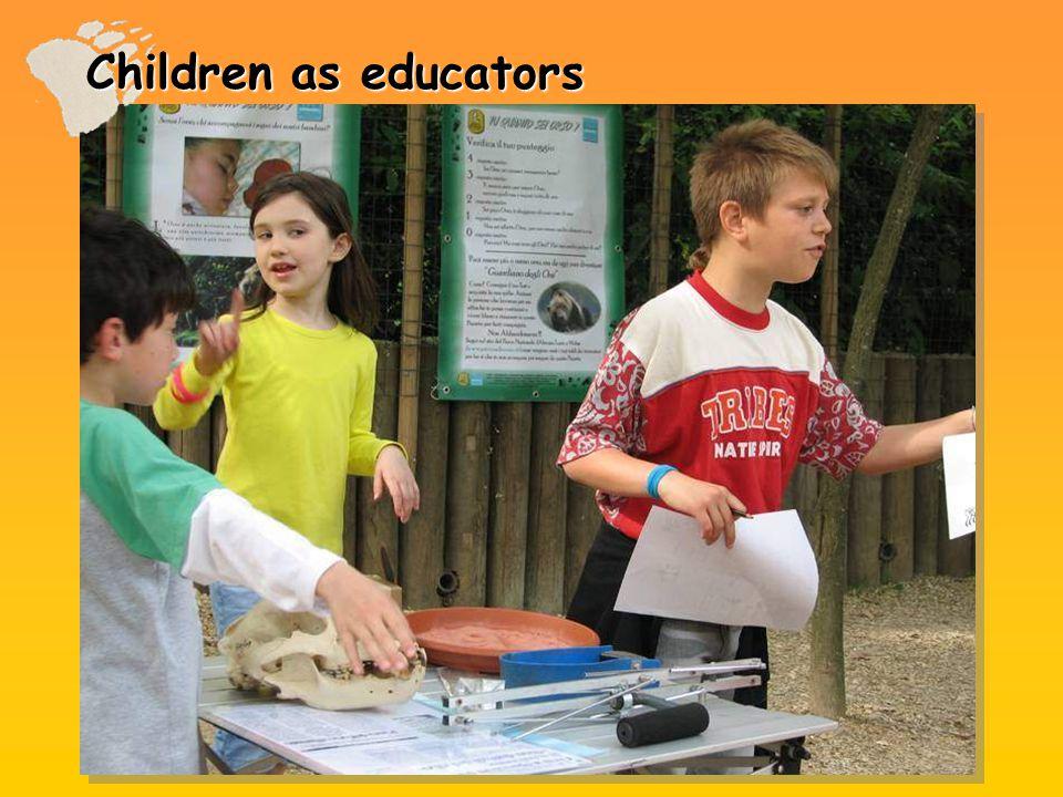 Children as educators