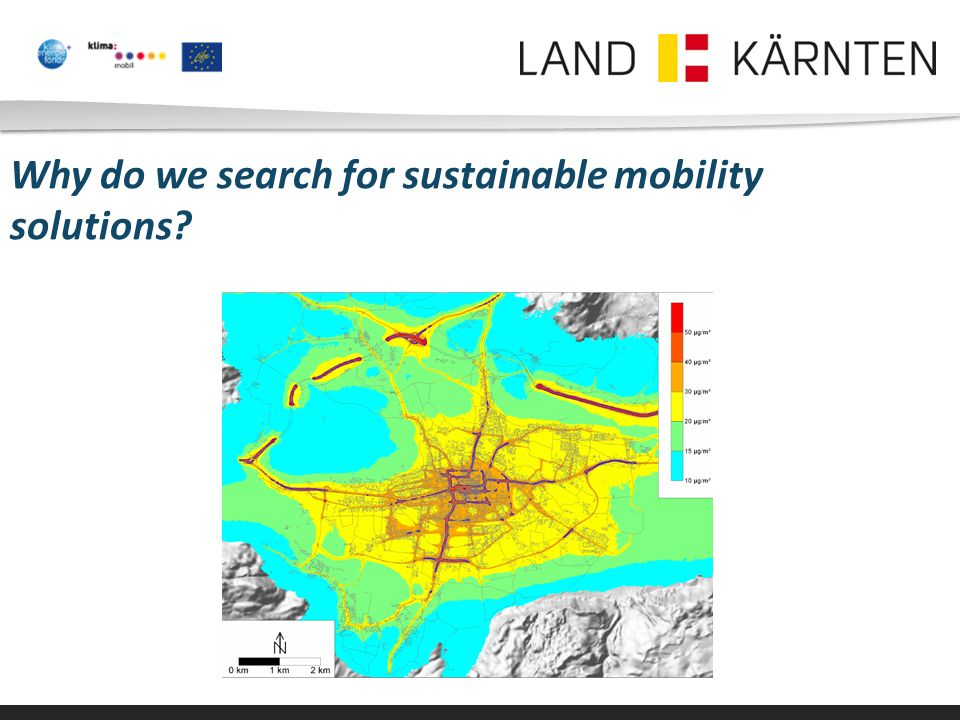 Why do we search for sustainable mobility solutions