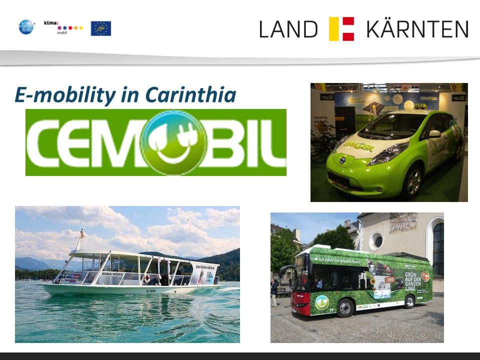 E-mobility in Carinthia