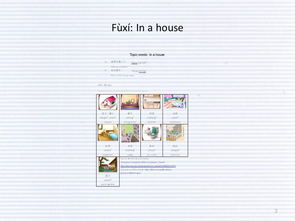 Fùxí: In a house 3