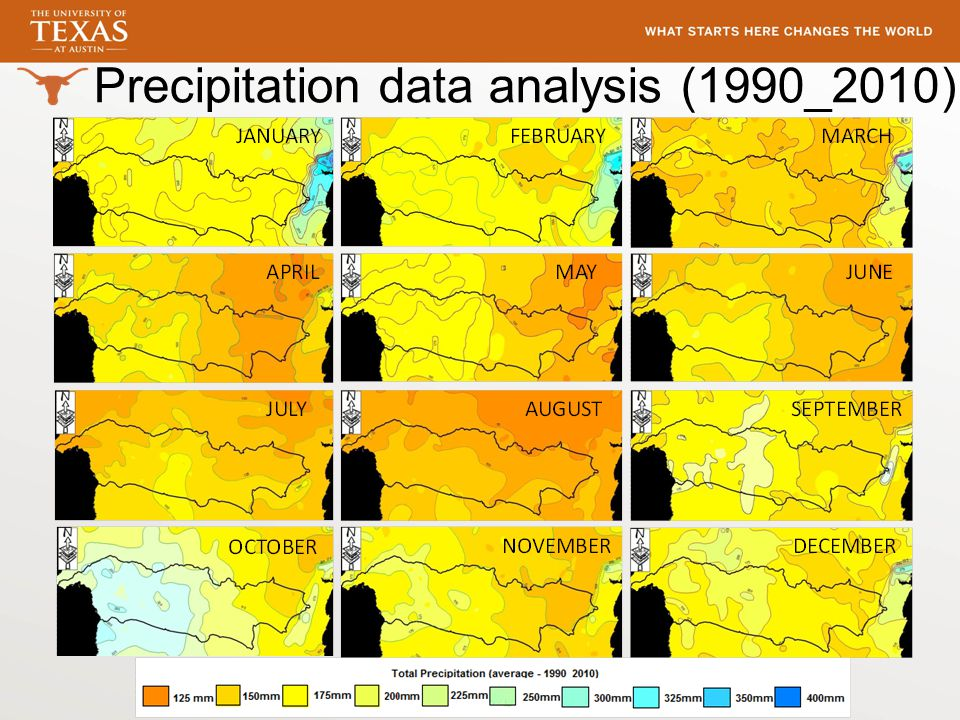 Precipitation data analysis (1990_2010)