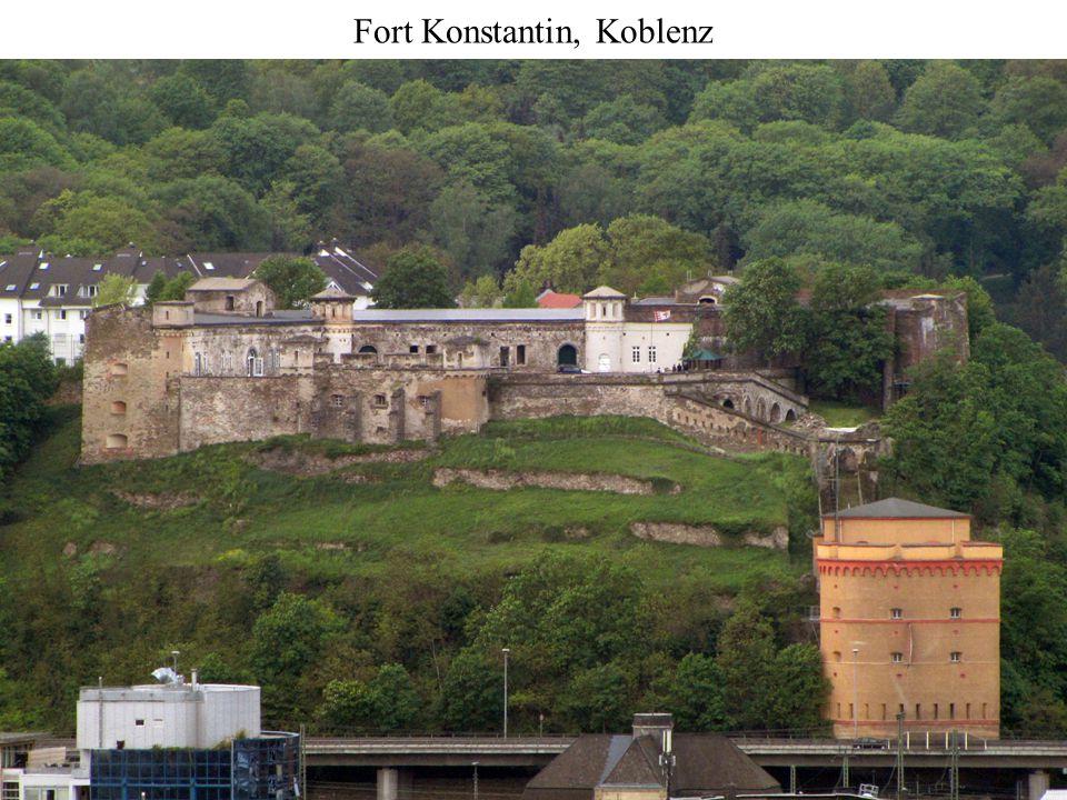 The Alexander Gate, Koblenz (built 1817-1822)