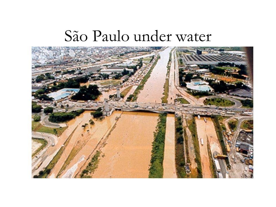 São Paulo under water
