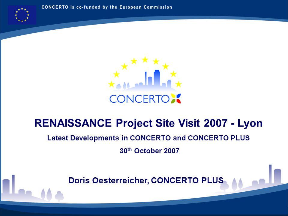 Latest Developments in CONCERTO and CONCERTO PLUS -CONCERTO PLUS: What it does and latest developments -Recent Developments in the CONCERTO communities -The CONCERTO Vision!