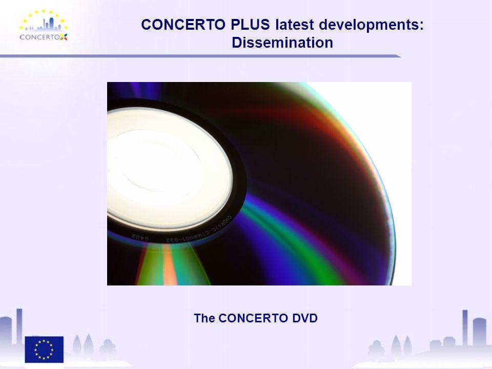The CONCERTO DVD CONCERTO PLUS latest developments: Dissemination