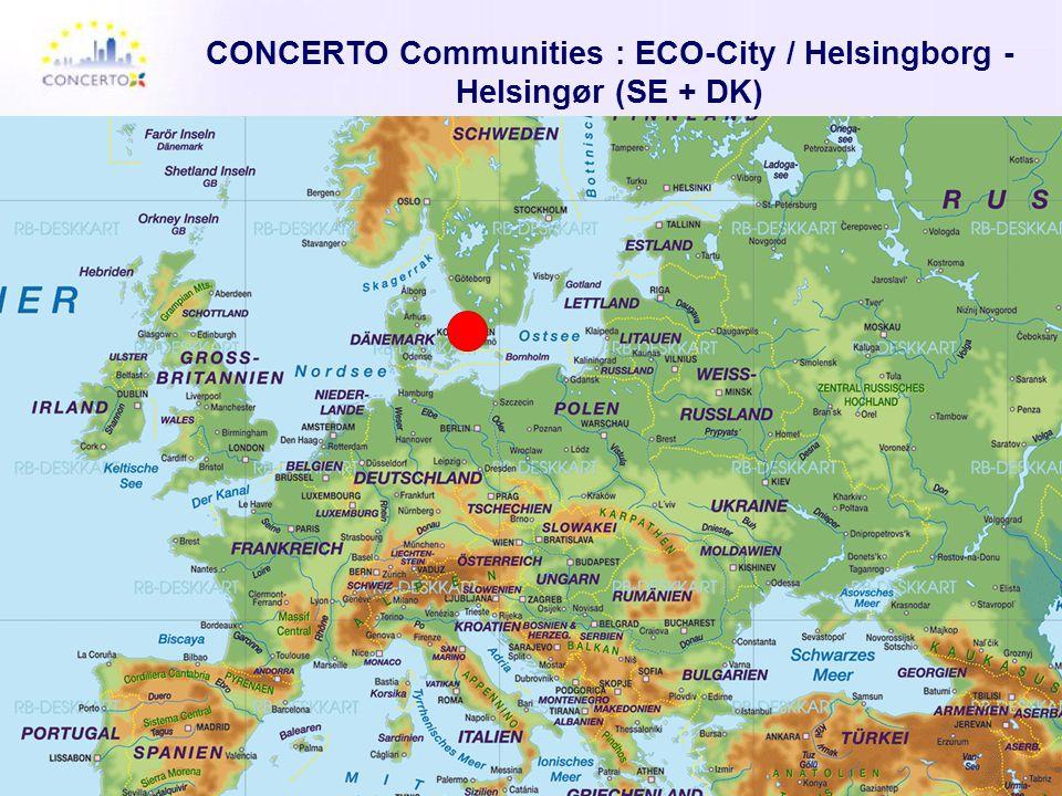 CONCERTO Communities : ECO-City / Helsingborg - Helsingør (SE + DK)