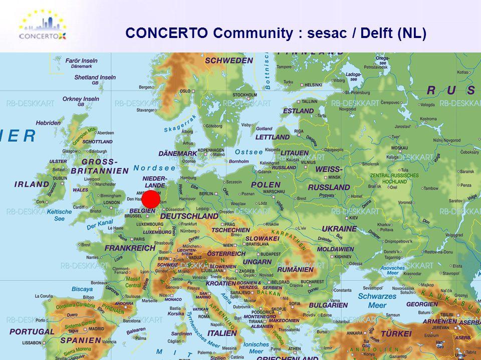 CONCERTO Community : sesac / Delft (NL)