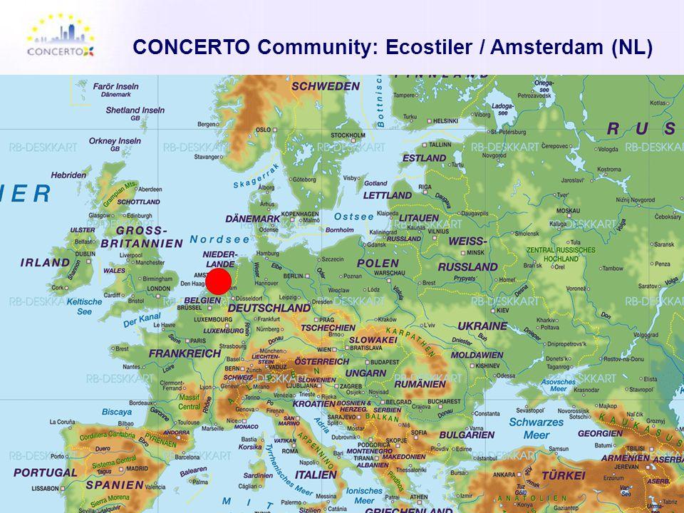 CONCERTO Community: Ecostiler / Amsterdam (NL)
