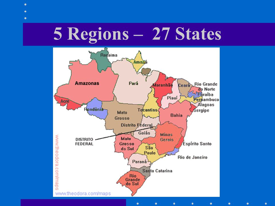  39% think that Spanish is the national language  23% think the capital is Buenos Aires  67% of Americans say Brazil is their third preferred country , after Canada (90%) and Japan (78%) Source: MRE/BID, USA 1999 - National Opinion Research Center (NORC) / ©Anthropos Consulting What others think about Brazil?