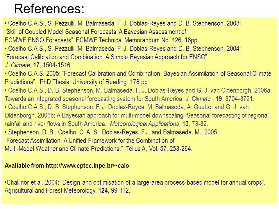 References: Coelho C.A.S., S. Pezzulli, M. Balmaseda, F.