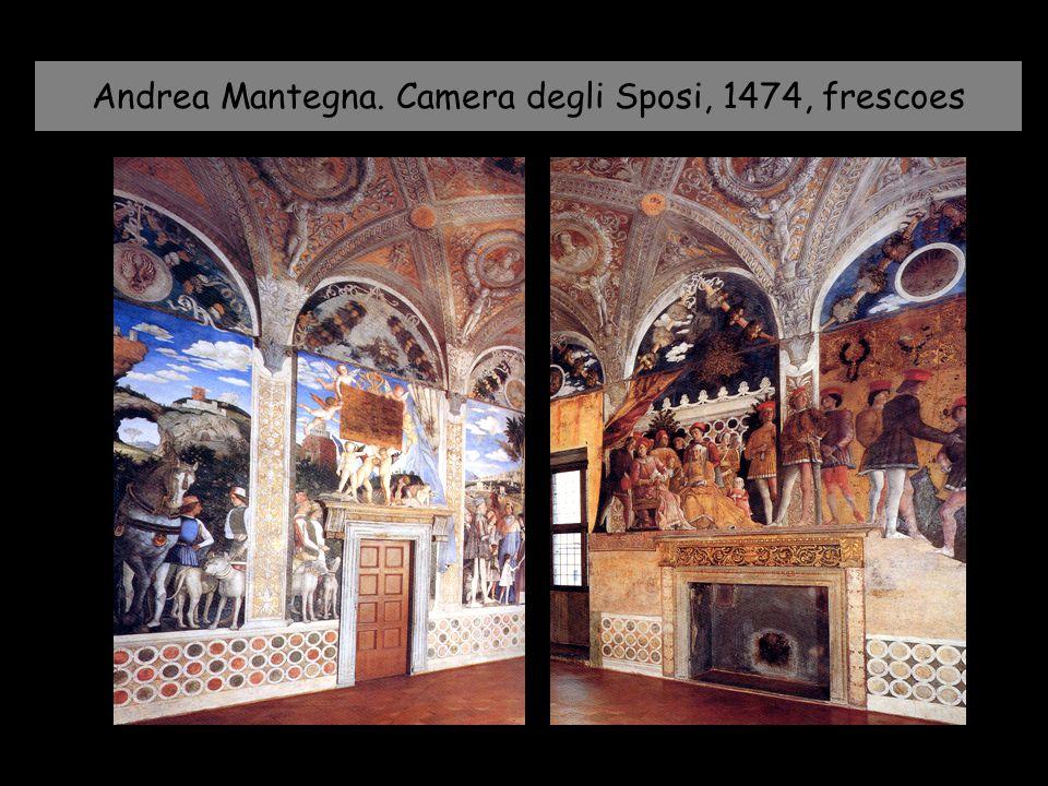 Andrea Mantegna. Camera degli Sposi, 1474, frescoes