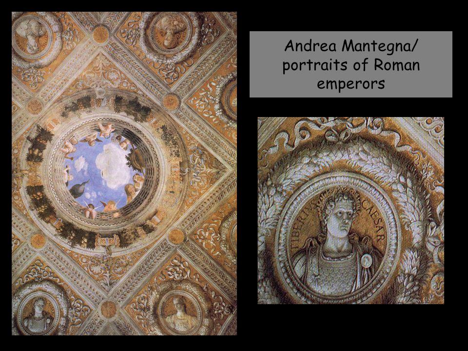Andrea Mantegna/ portraits of Roman emperors
