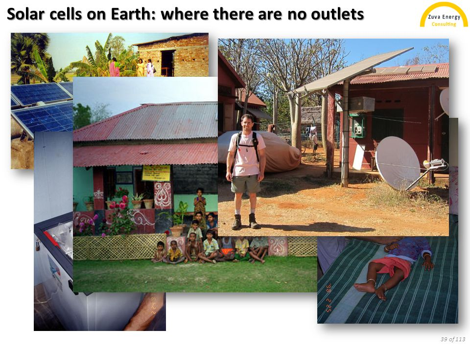 Solar cells on Earth: where there are no outlets 39 of 113