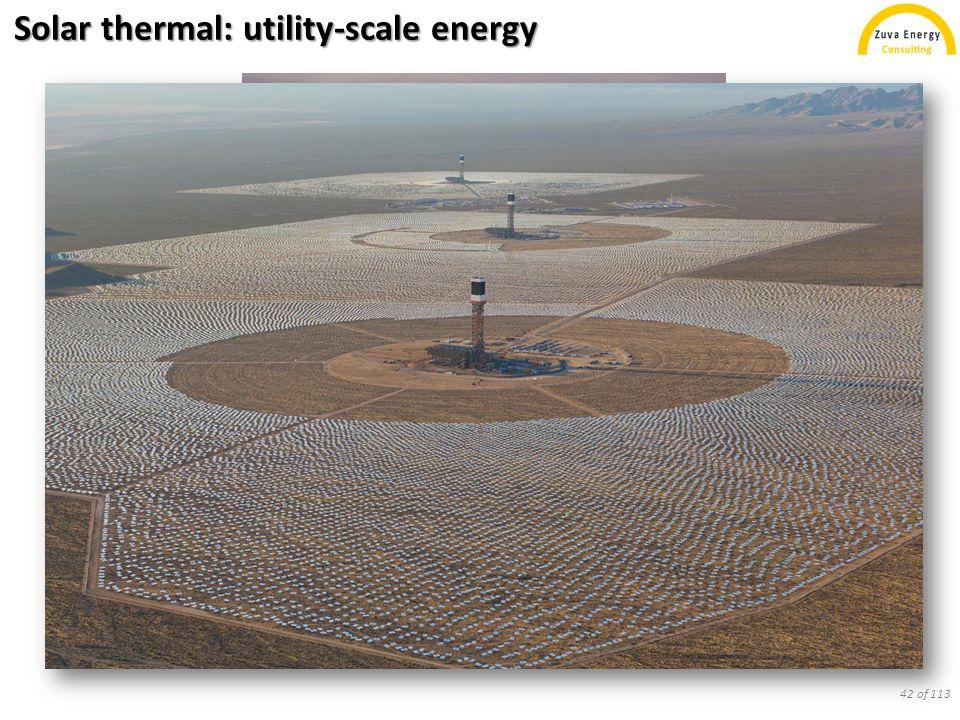 Solar cells on Earth: solar cars? 43 of 113