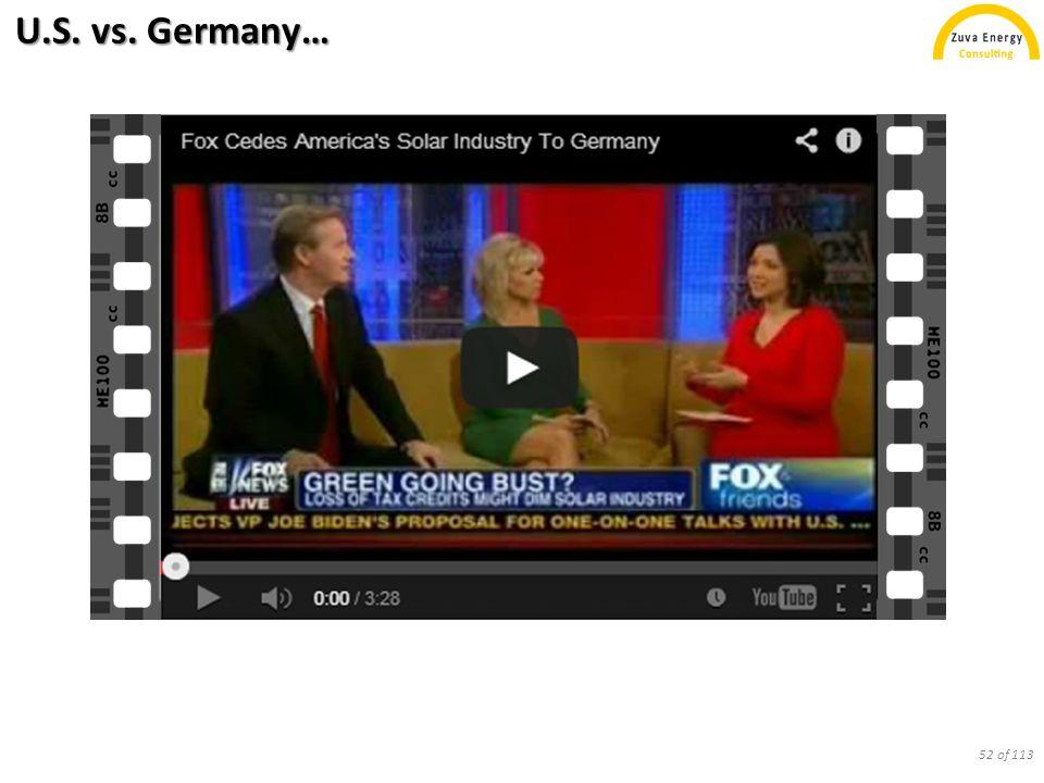U.S. vs. Germany… 52 of 113