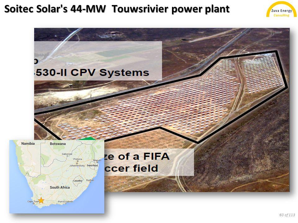 Soitec Solar's 44-MW Touwsrivier power plant 60 of 113