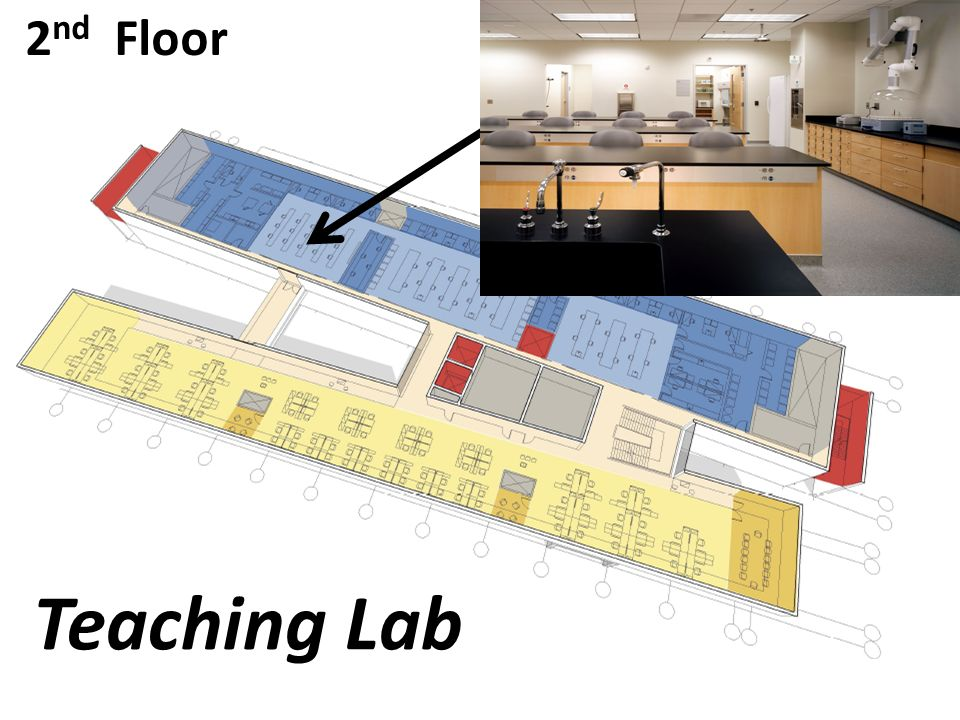 2 nd Floor Teaching Lab