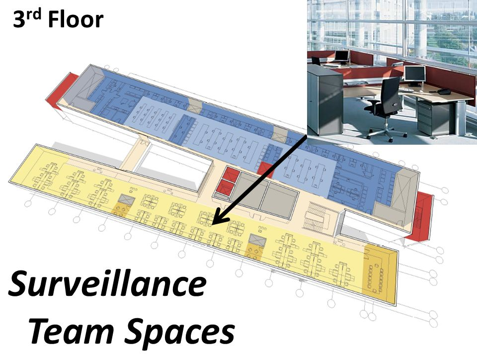 3 rd Floor Surveillance Team Spaces