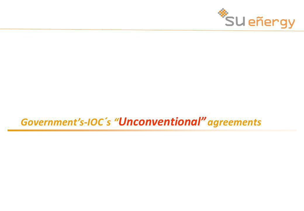 Governments-IOC´s Unconventional agreements