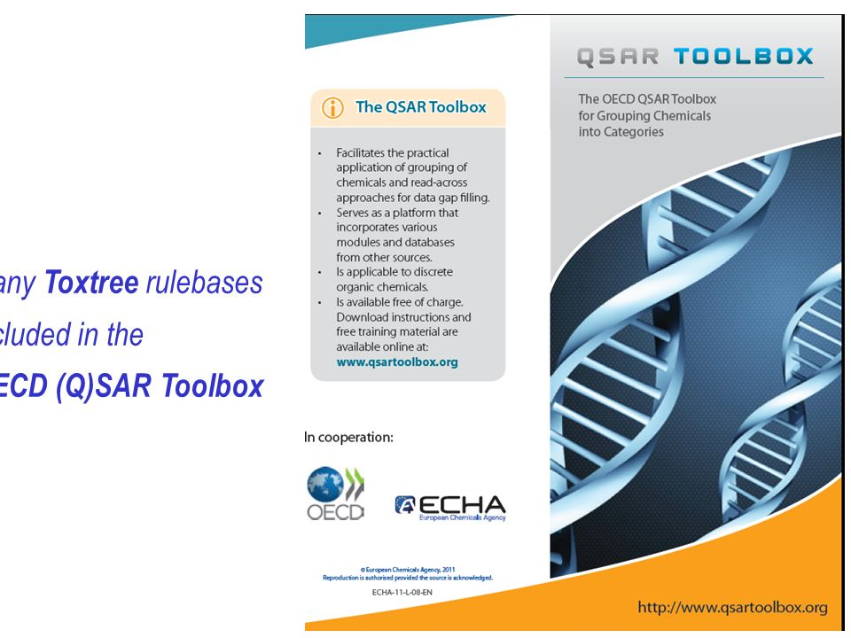 Many Toxtree rulebases included in the OECD (Q)SAR Toolbox
