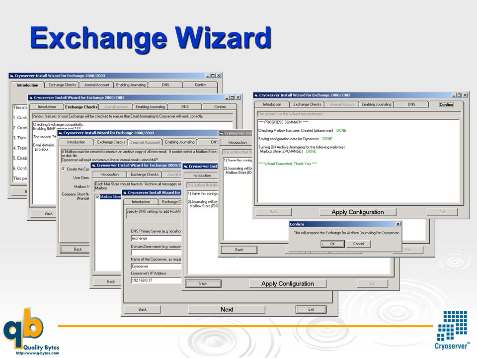 Exchange Wizard