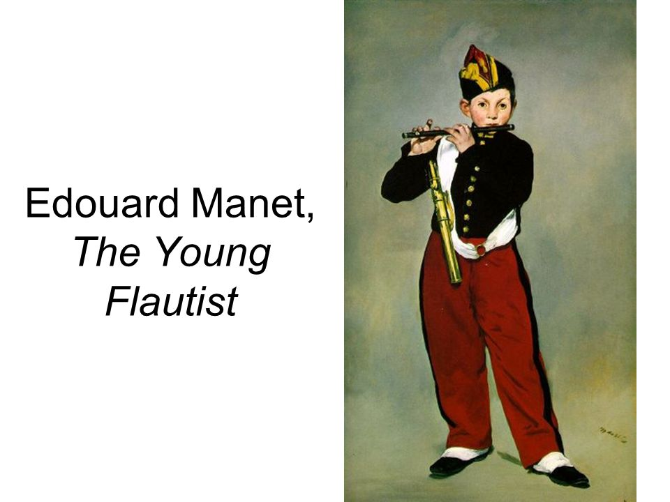 Edouard Manet, The Young Flautist