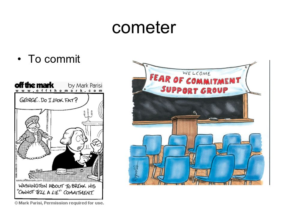 cometer To commit