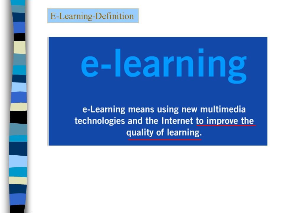 E-Learning-Definition