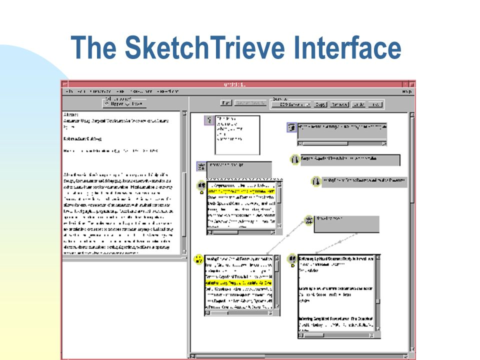 The SketchTrieve Interface