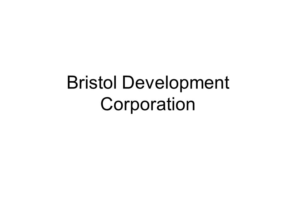 Bristol Development Corporation