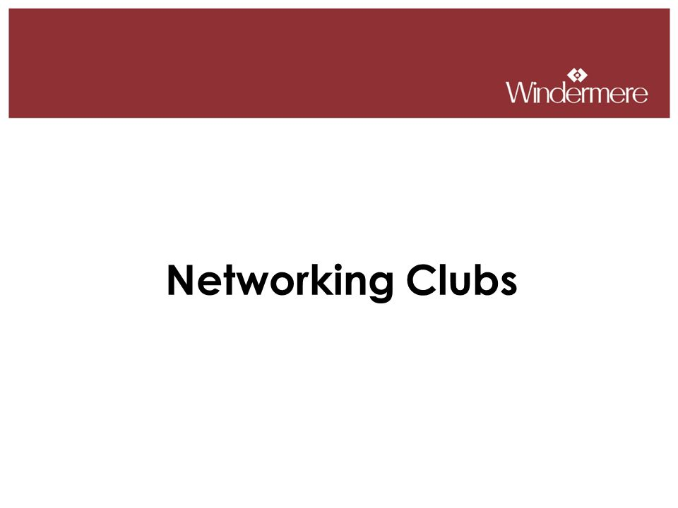 Networking Clubs