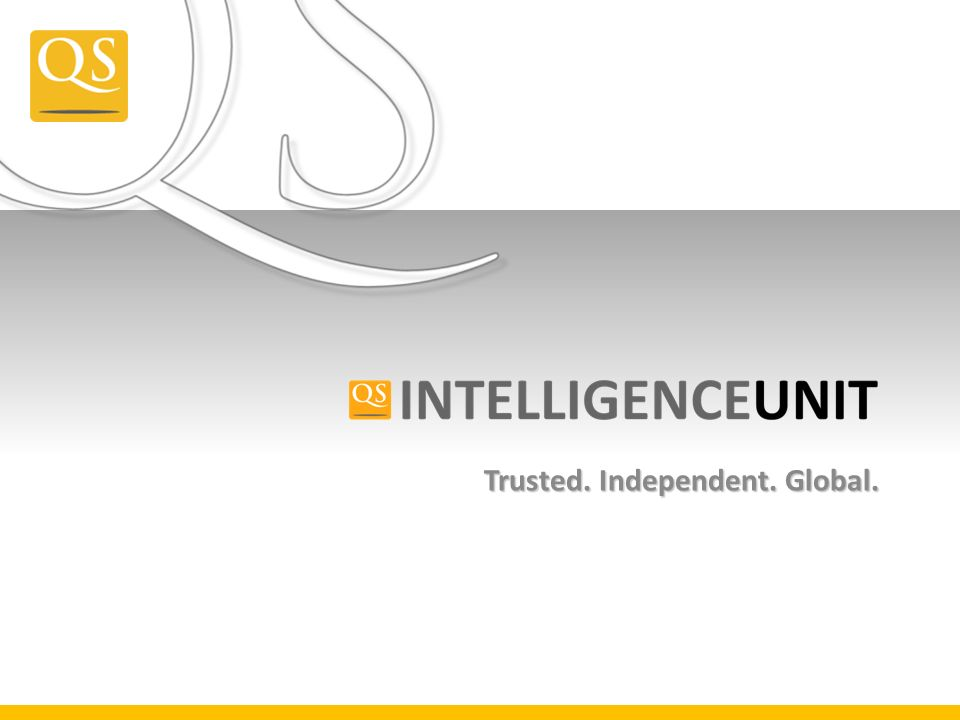 Trusted. Independent. Global.
