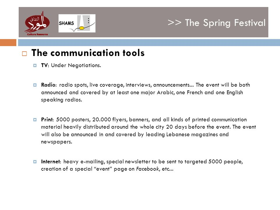 >> The Spring Festival The communication tools TV: Under Negotiations.