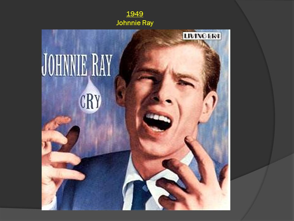 1949 Johnnie Ray