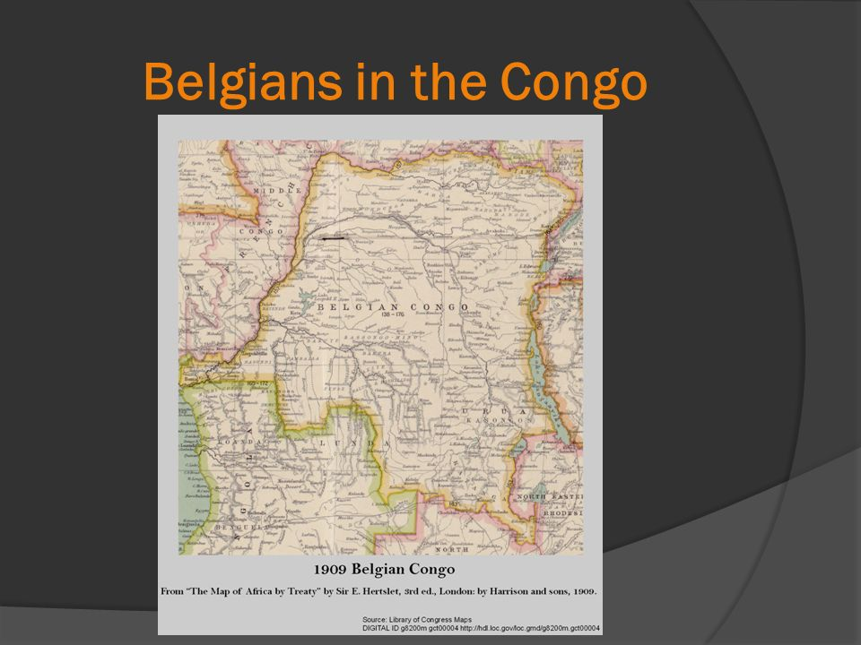 Belgians in the Congo