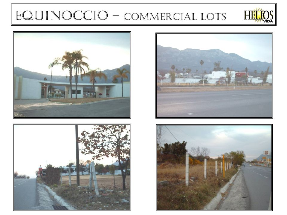Equinoccio – commercial lots