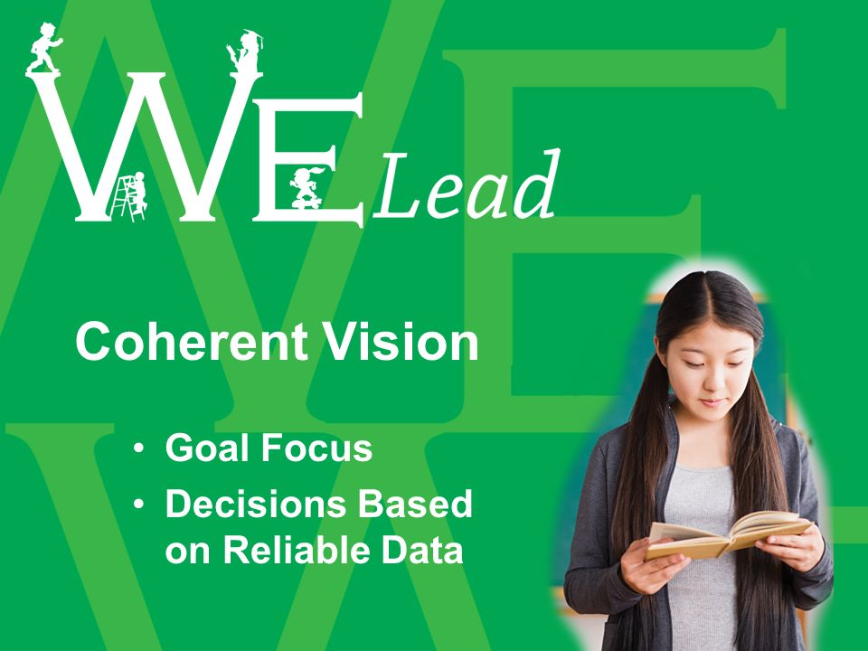 Coherent Vision Goal Focus Decisions Based on Reliable Data