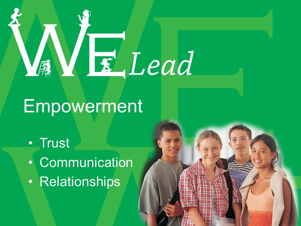 Trust Communication Relationships Empowerment