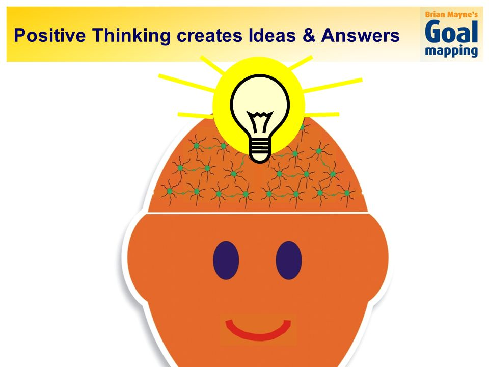 Positive Thinking creates Ideas & Answers