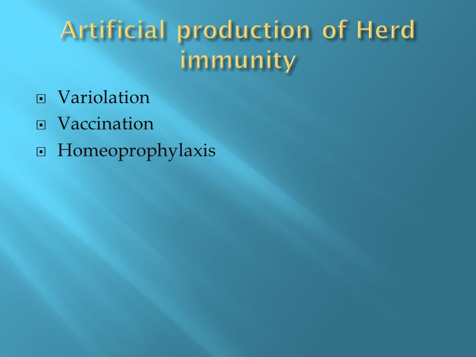 Variolation Vaccination Homeoprophylaxis