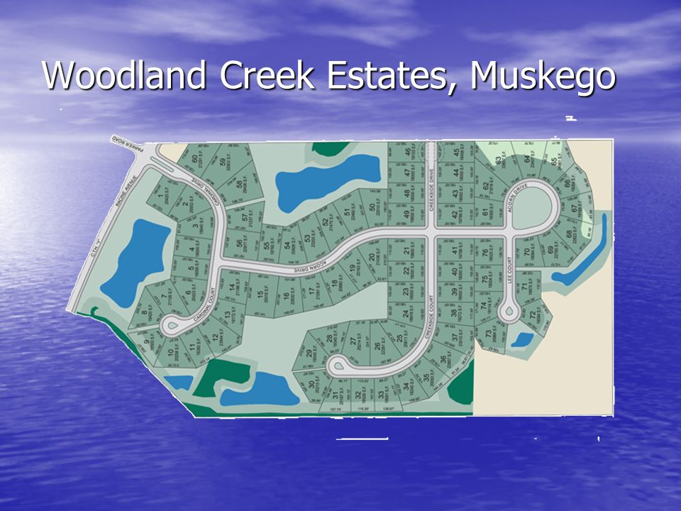 Woodland Creek Estates, Muskego