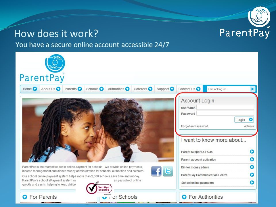 How does it work You have a secure online account accessible 24/7