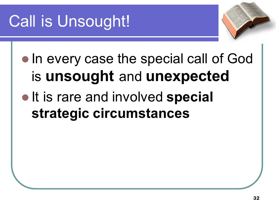 Call is Unsought.