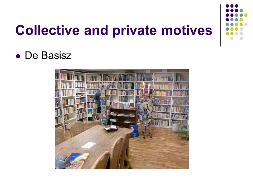 Collective and private motives De Basisz