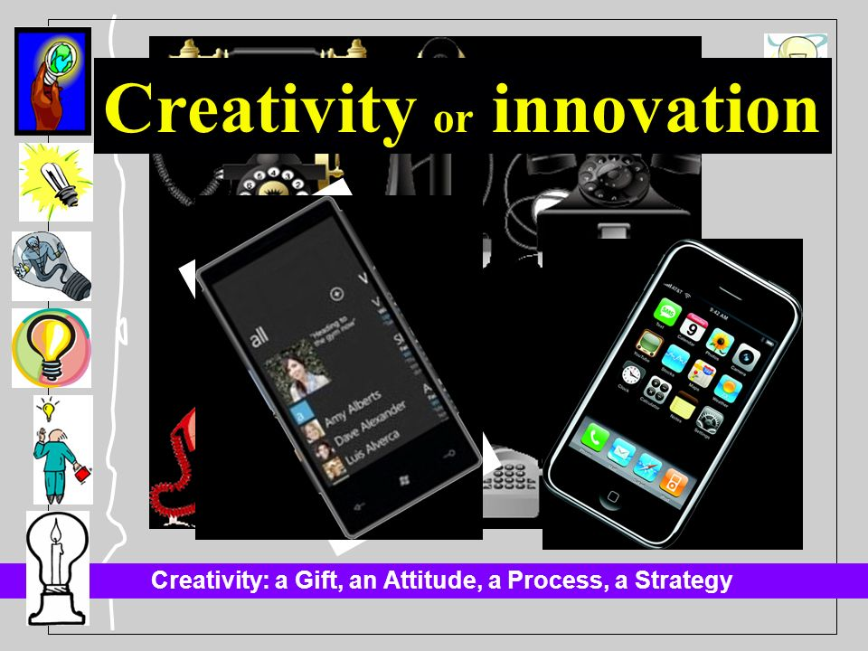 Creativity or innovation