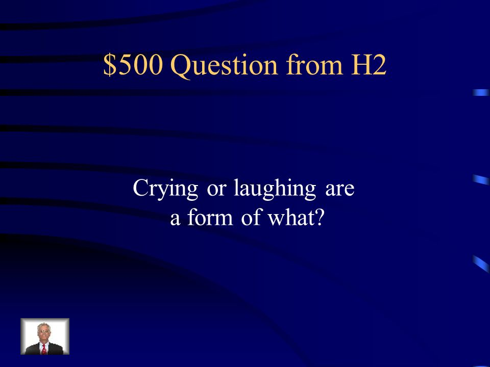 $400 Answer from H2 Emotional Needs