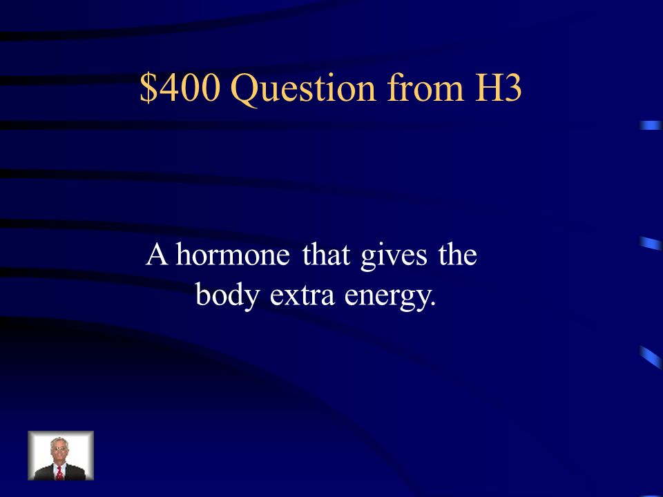$300 Answer from H3 Fight-or-Flight Response