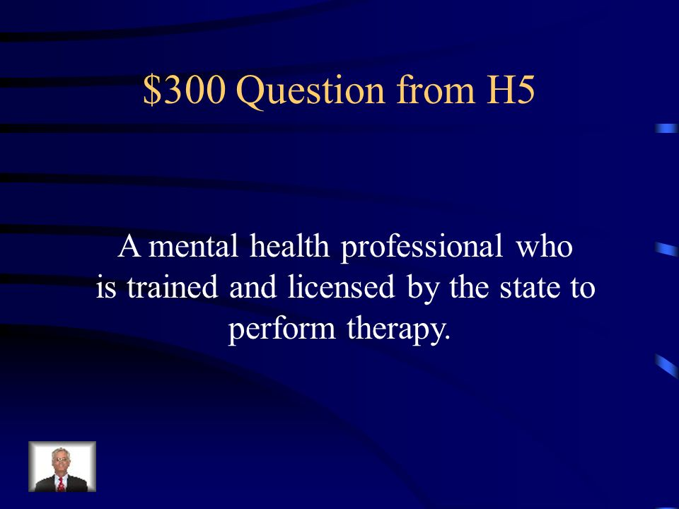$200 Answer from H5 Therapy